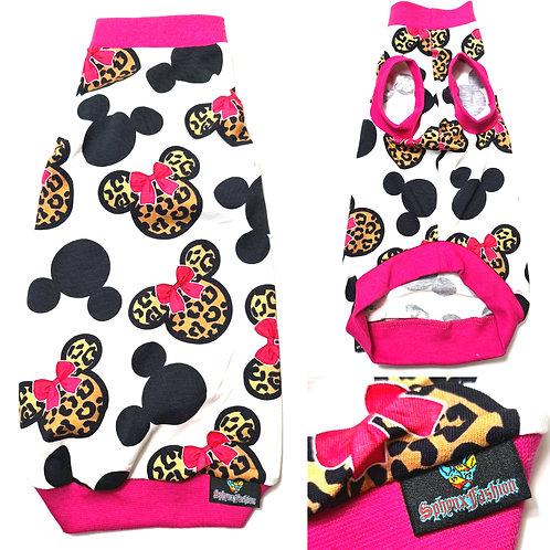 Minnie on Safari Jersey - Sphynx Cat Top