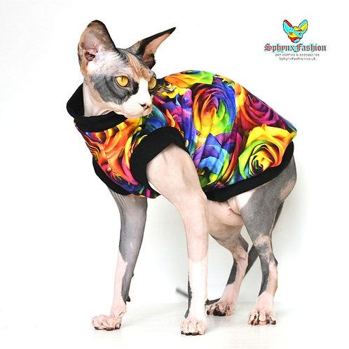 Rose Cotton Knit - Sphynx Cat Top