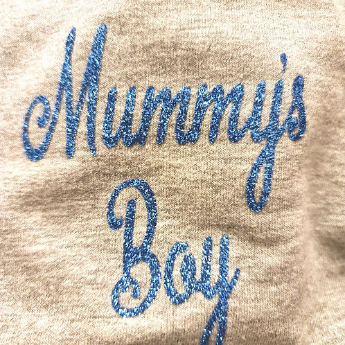 Grey Mummy's Boy Cotton Knit (M)