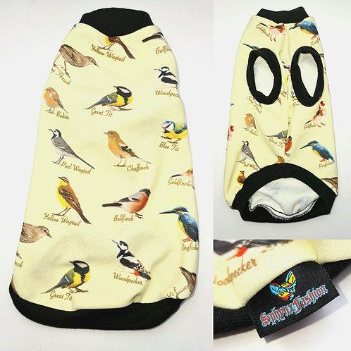 Lemon Birdwatch - Sphynx Cat Top