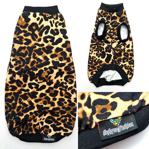 Leopard Print Cotton Knit (XLL)