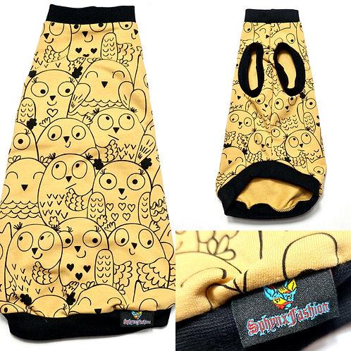 Owl's Cotton Knit - Sphynx Cat Top