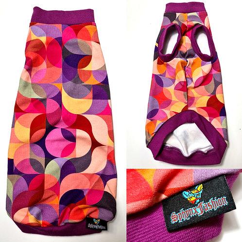 Kaleidoscope Cotton Knit - Sphynx Cat Top