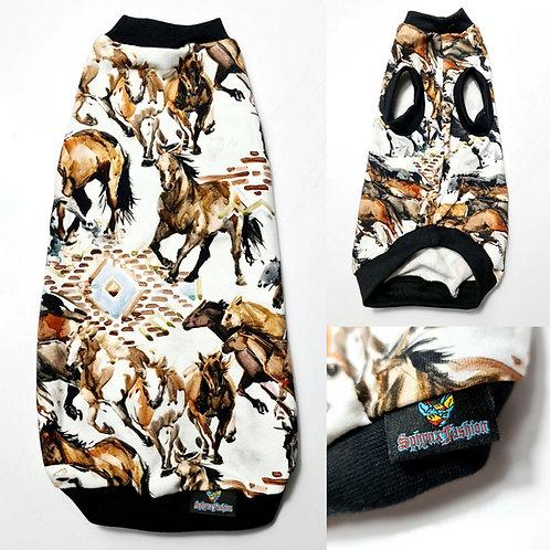 Horses - Sphynx Cat Top
