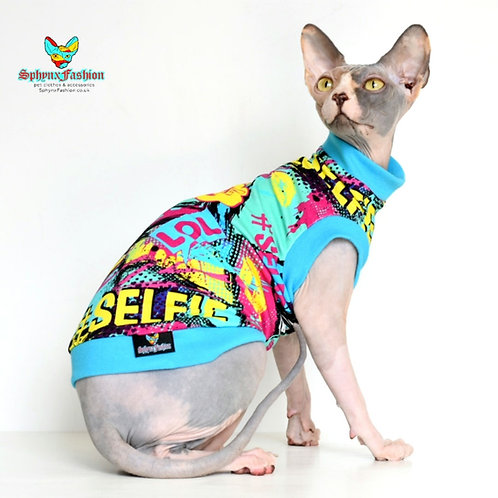 SELF!E Jersey - Sphynx Cat Top