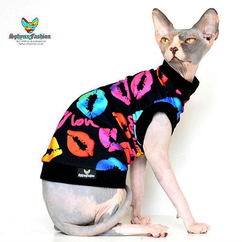 KISS ME! Jersey  - Sphynx Cat Top