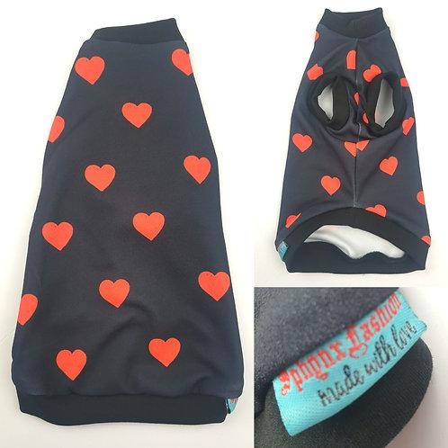 Navy Heart (S)