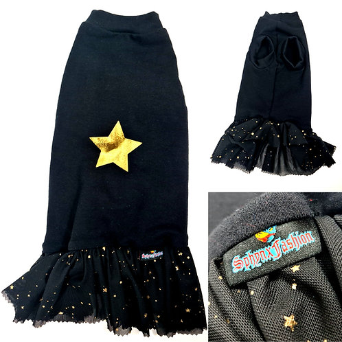 Long Star And Bow Dress  (LL)