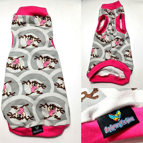 Pink Taz - Sphynx Cat Top
