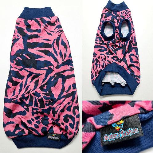 Pink tiger Jersey - Sphynx Cat Top
