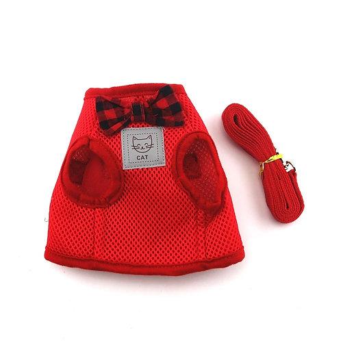 Bow Tie mesh Cat Harness