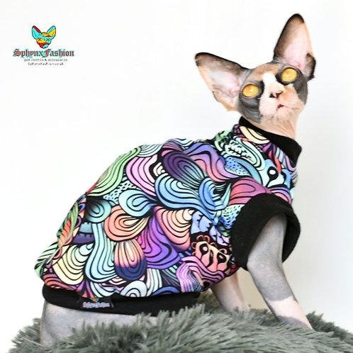 Mellow Cotton Knit- Sphynx Cat Jumper