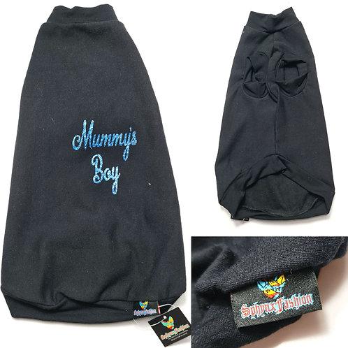 Mummy's Boy Cotton Knit - Sphynx Cat Top