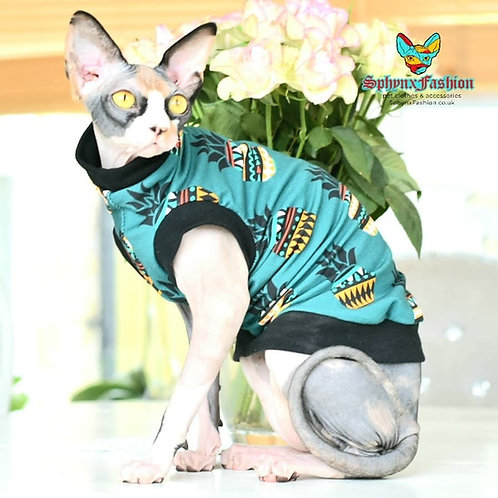 Pineapple CottonKnit - Sphynx Cat Top