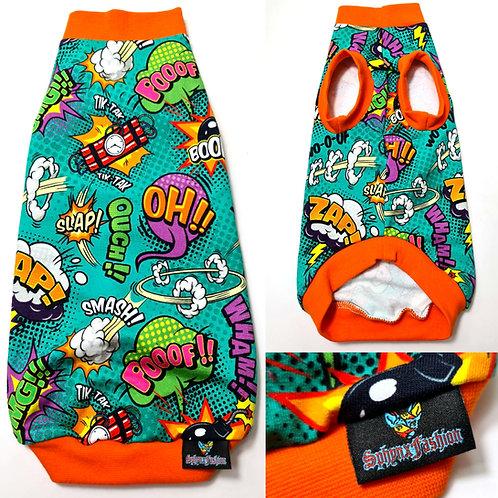 Slap-Zapp-Ouch Cotton Knit - Sphynx Cat Top