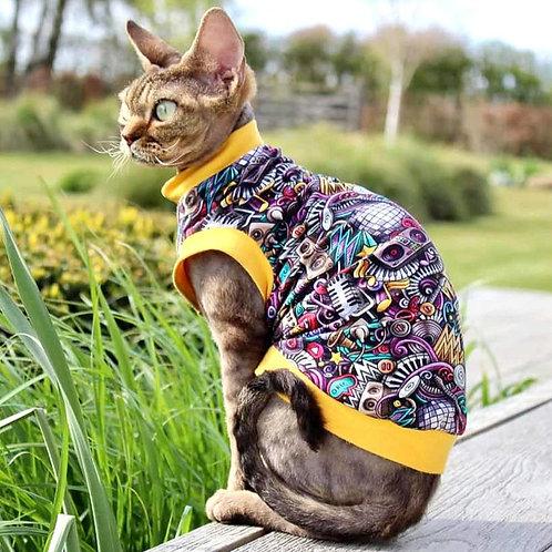 Studio Jersey- Sphynx Cat Top