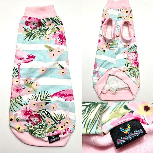 Flamingo Reclaimed Cotton Knit - Sphynx Cat Top