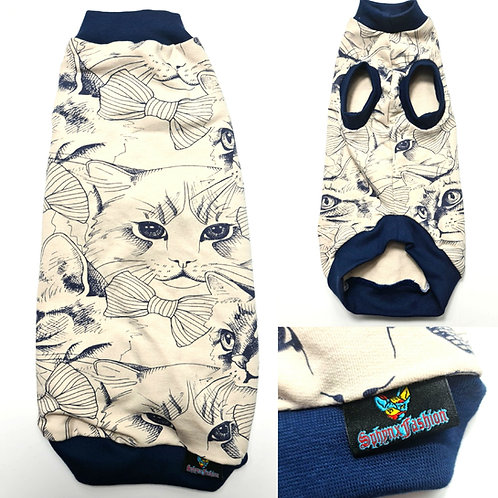 All About Cats Cotton Knit - Sphynx Cat Top