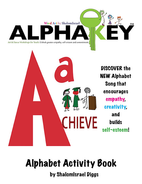 AlphaKey Alphabet Activity Coloring Book