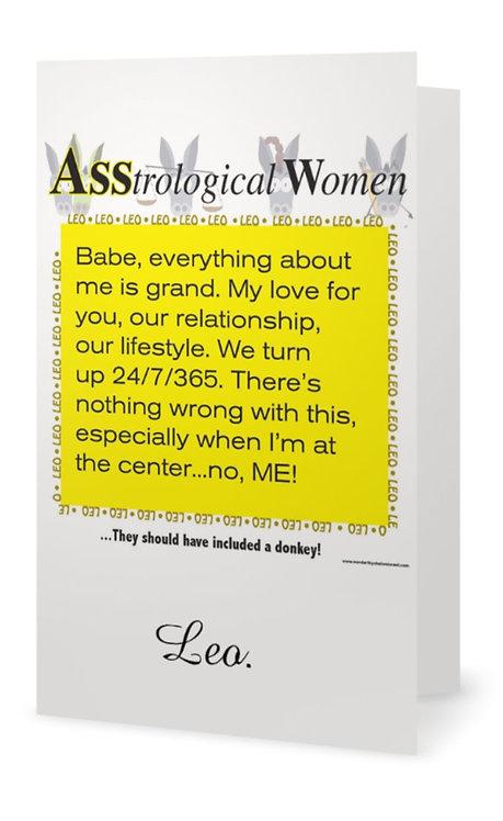 ASStrological Women Greeting Cards