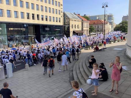 Wielki Protest pracowników ochrony zdrowia - walka o wszystko