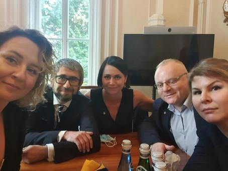 Spotkanie PChSKALPEL z Ministrem Zdrowia Adamem Niedzielskim