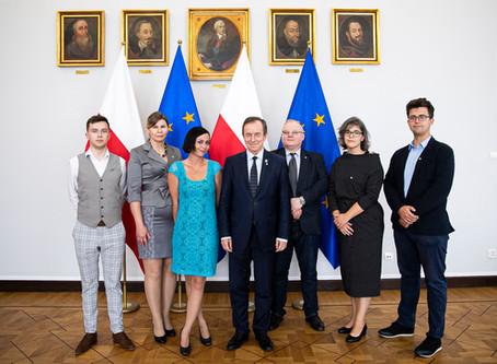 Spotkanie Stowarzyszenia PCh SKALPEL z Marszałkiem Senatu Prof. Tomaszem Grodzkim