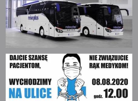 Transport z Lublina do Warszawy na Manifestację Medyków