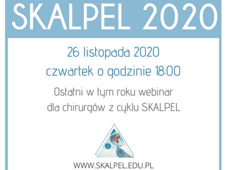 Przed nami ostatni webinar dla chirurgów z cyklu Skalpel 2020