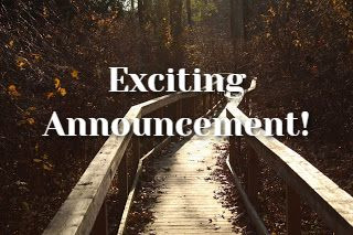 Exciting Announcement!