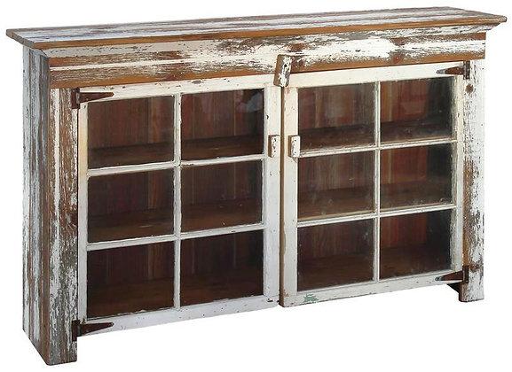 The Salisbury Cabinet with (2) 6 Pane Windows  $495