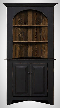 Paradise Arch Top Corner Cabinet $450