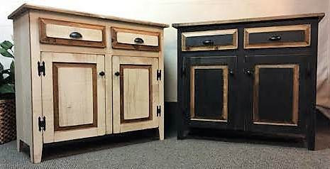 The Ronk's Country 2 Drawer Buffet $380