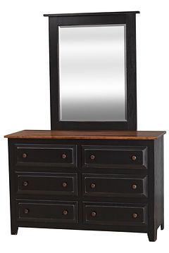 511-OX_6-Drawer_Dresser_with_515-OX_mirr