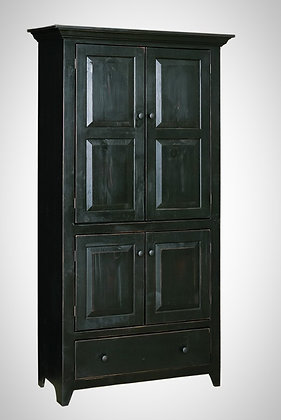 Paradise Four Door Pantry with Drawer $595