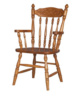 """""""Country Harvest"""" Arm Chair"""