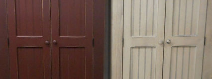 Timber Home Furnishings Amish Country Pine Bead Board Door Panels