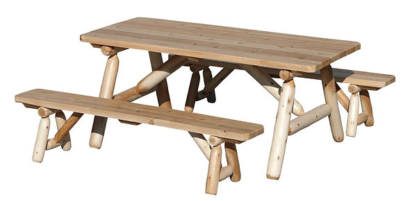Steadman Picnic Table with Standing Benches $650-$695