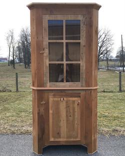 Rclaimed Haystack Corner Cabinet