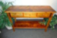 ReClaimed BarnWood Clear Varnish Side Board