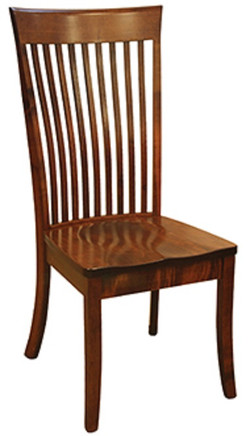 """""""OW Shaker Bent Paddle Side Chair"""