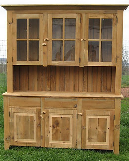 Quality & Value- Amish & Reclaimed Barn Wood Hutches & China Cabinets