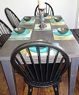 Reclaimed Barn Wood Farmhouse Table