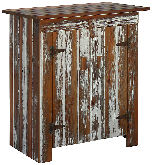 Reclaimed Barn Wood Cabinet