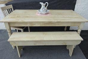 Rough Sawn Farmhouse Table