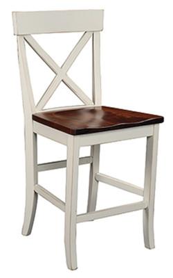 """""""Single X"""" 24"""" Bar Chair"""