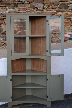 Neshimany Corner Cabinet
