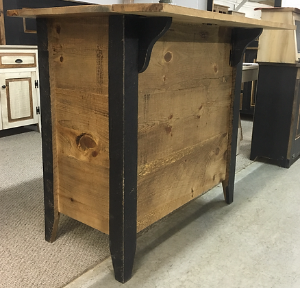 Ronk's Rough Sawn Bar/Island - 4 or  6 Foot Long - $380 & $440