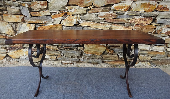 Atglen Industrial & Reclaimed Barn Wood Coffee Table  $475