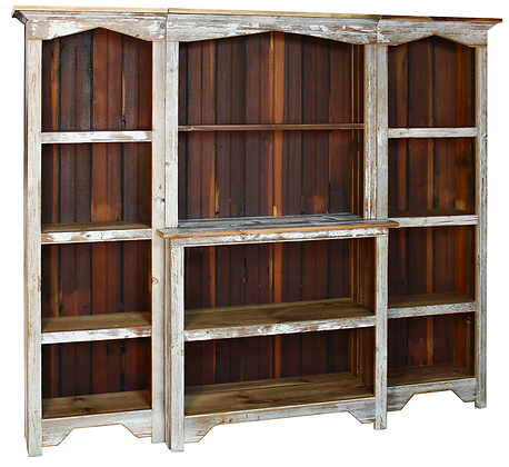The Bellemont 3 Piece Wall Unit $860